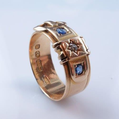 mourning and signet rings, gold ring