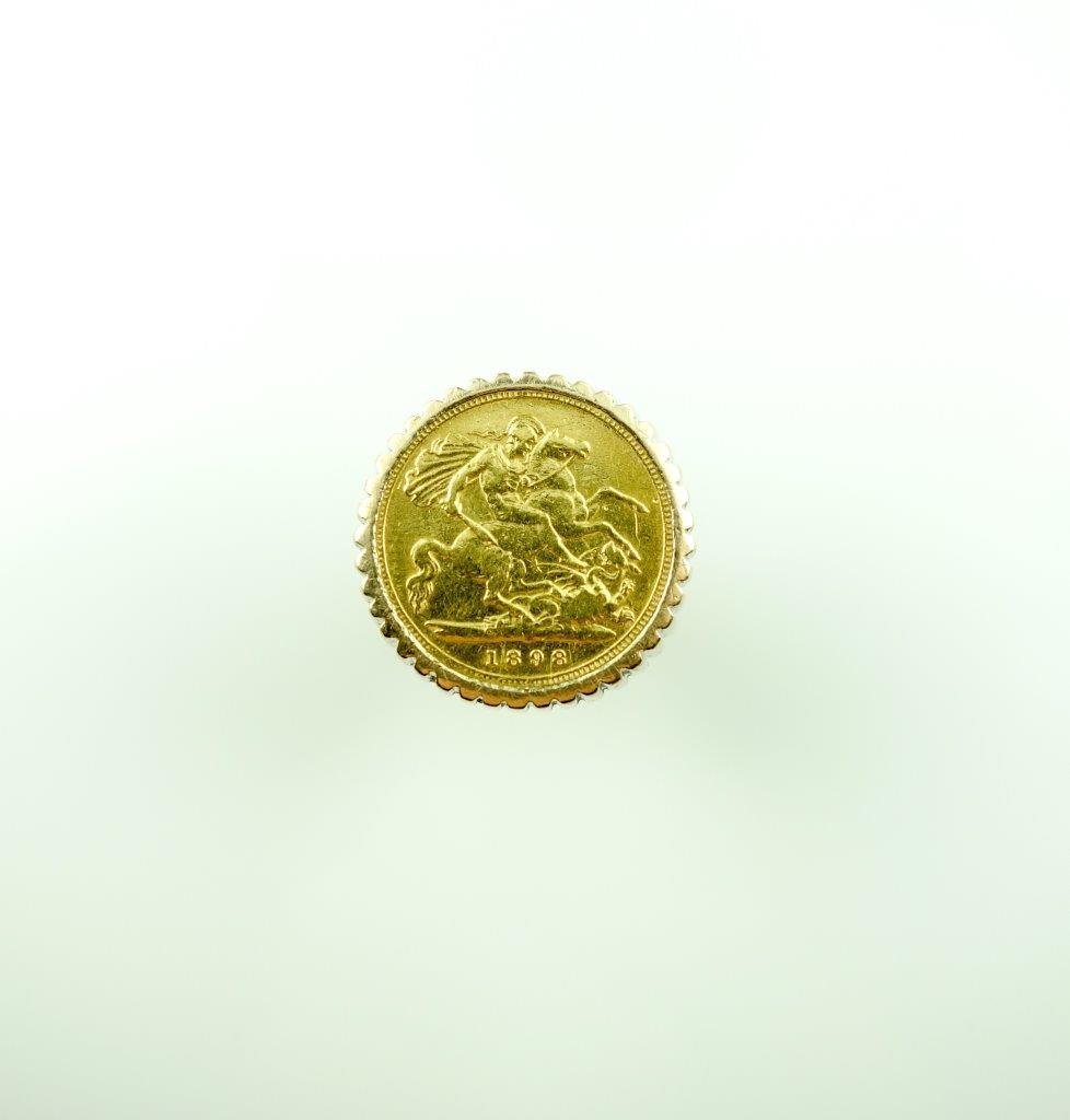 rings medallion coin s heavyweight gold itm ebay sovereign ring full