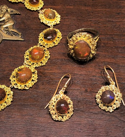 Mexican Fire Opals Australia Jewellery