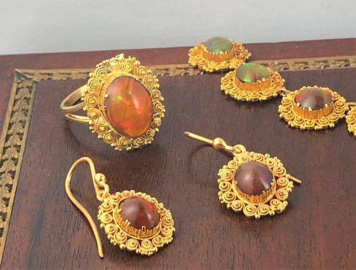 Mexican Fire Opals Sydney Jewellery