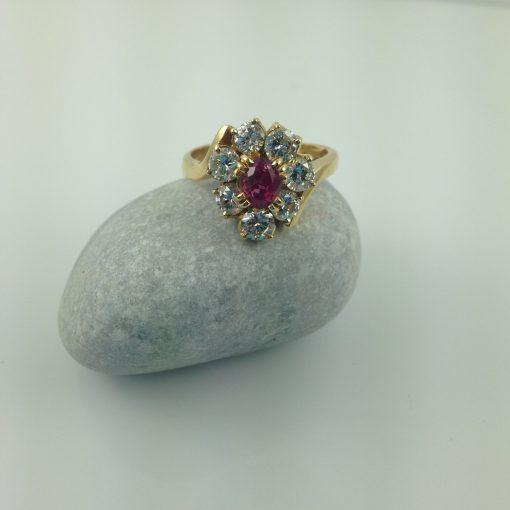 Ruby Engagement Ring Sydney