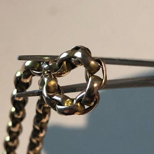 Close Up Victorian Guard Chain
