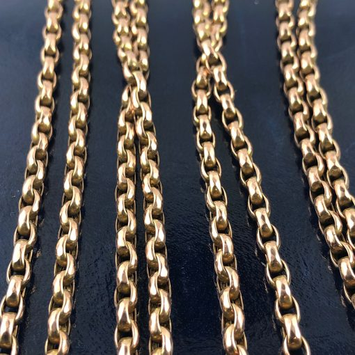 Gold Victorian Guard Chain